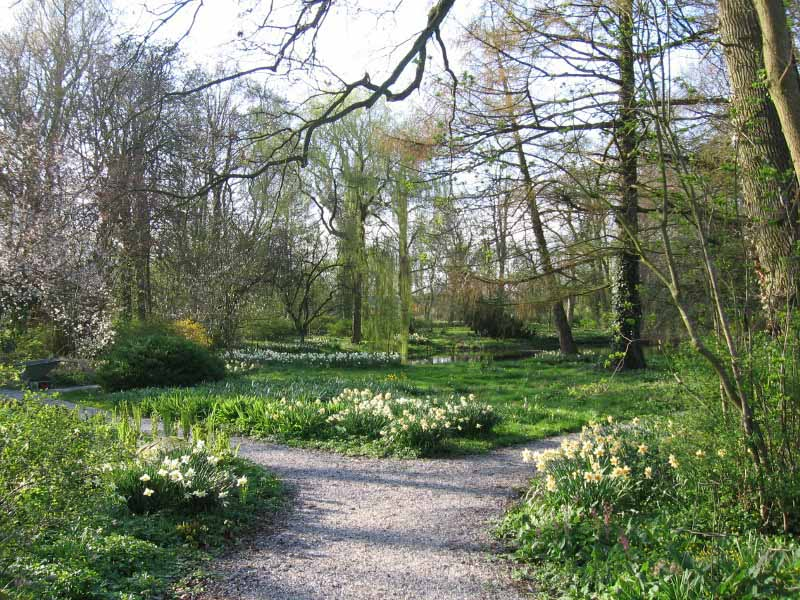 Historische buitenplaats philippusfenne for Aanleg kleine tuin